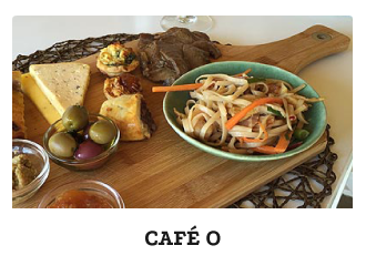 Cafe O restaurant in Prince Albert